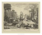 Claude Lorrain - Antique Harbor V - Giclee Baskı