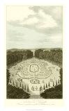 Garden at Versailles I Giclée-Druck