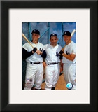 Roger Maris, Yogi Berra, and Mickey Mantle Posters