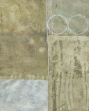 Silver Gilded Abstract II Prints