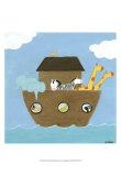 L'arca di Noè I Stampe di Erica J. Vess
