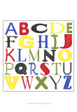 Kid&#39;s Room Letters Prints by Megan Meagher