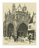 Ornate Facade I Giclee Print by Albert Robida