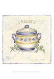 French Pottery I Affiche par Nancy Shumaker Pallan