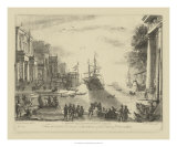 Claude Lorrain - Antique Harbor VI - Giclee Baskı