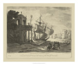 Claude Lorrain - Antique Harbor IV - Giclee Baskı