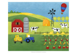 Storybook Farm Prints by Chariklia Zarris