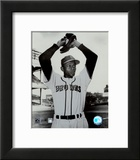 Satchel Paige - Ball in glove Prints
