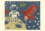 Space Explorer I Prints by Chariklia Zarris