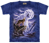 Wolf Moon Spirit T-shirts
