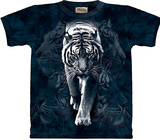 White Tiger Stalking Camisetas