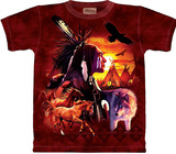 Indian Collage Shirt