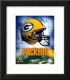 Green Bay Packers Helmet Logo Prints