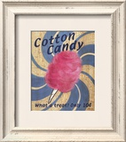 Fair Time Cotton Candy Pósters por Louise Max