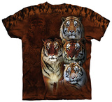 Siberian and Bengal Tigers T-Shirt