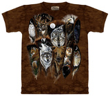 Animal Feathers T-shirts