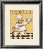 Le Chef et le Pain Posters by Daphne Brissonnet