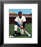 Billy Williams - Kneeling with bat Art