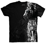 White Tiger Stripe T-Shirt