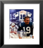 Johnny Unitas - Legends of the Game Composite Poster