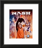 Steve Nash 2004 - 2005 NBA Most Valuable Player Composite Prints