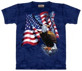 Eagle Flag Tshirts