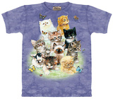 Ten Kittens T-shirts