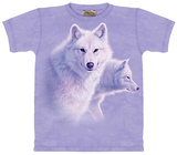 Graceful White Wolf T-shirts