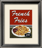 French Fries Poster by Catherine Jones