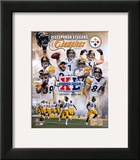 Steelers Super Bowl Composite Poster