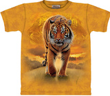 Rising Sun Tiger T-shirts