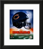 Chicago Bears Helmet Logo Art