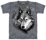 Ritratto di lupo T-Shirt
