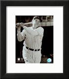 Babe Ruth -Bat over shoulder, posed sepia Prints