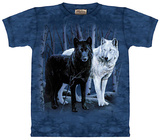 Black and White Wolves T-shirts