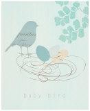 Baby Bird Prints by  Z Studio