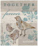 Together Forever and Ever Prints by Sam Appleman