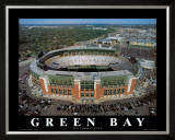 Green Bay Packers - New Lambeau Field Posters by Mike Smith