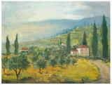 Tuscan Memory Art by Jill Schultz McGannon