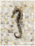 Pearlized Seahorse Posters by  Regina-Andrew Design