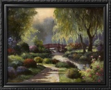 Path to Willow Park Print by T. C. Chiu