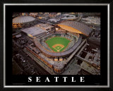 Safeco Park - Seattle, Washington Art by Mike Smith