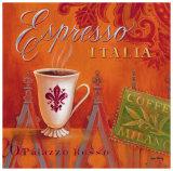 Espresso Italia Prints by Angela Staehling