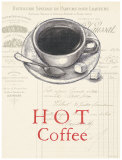 Hot Coffee Prints by Barb Lindner