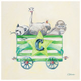 Animal Carriage: C Prints by Catherine Richards