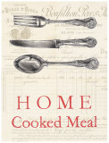 Home Cooked Meal Poster by Barb Lindner