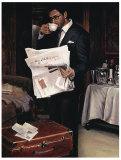 Room Service: Him Prints by Myles Sullivan