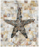 Pearlized Starfish Print by  Regina-Andrew Design