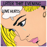 Love Hurts Poster by Patti Kelly