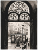 Filigree Iron Doors Print by Toby Vandenack